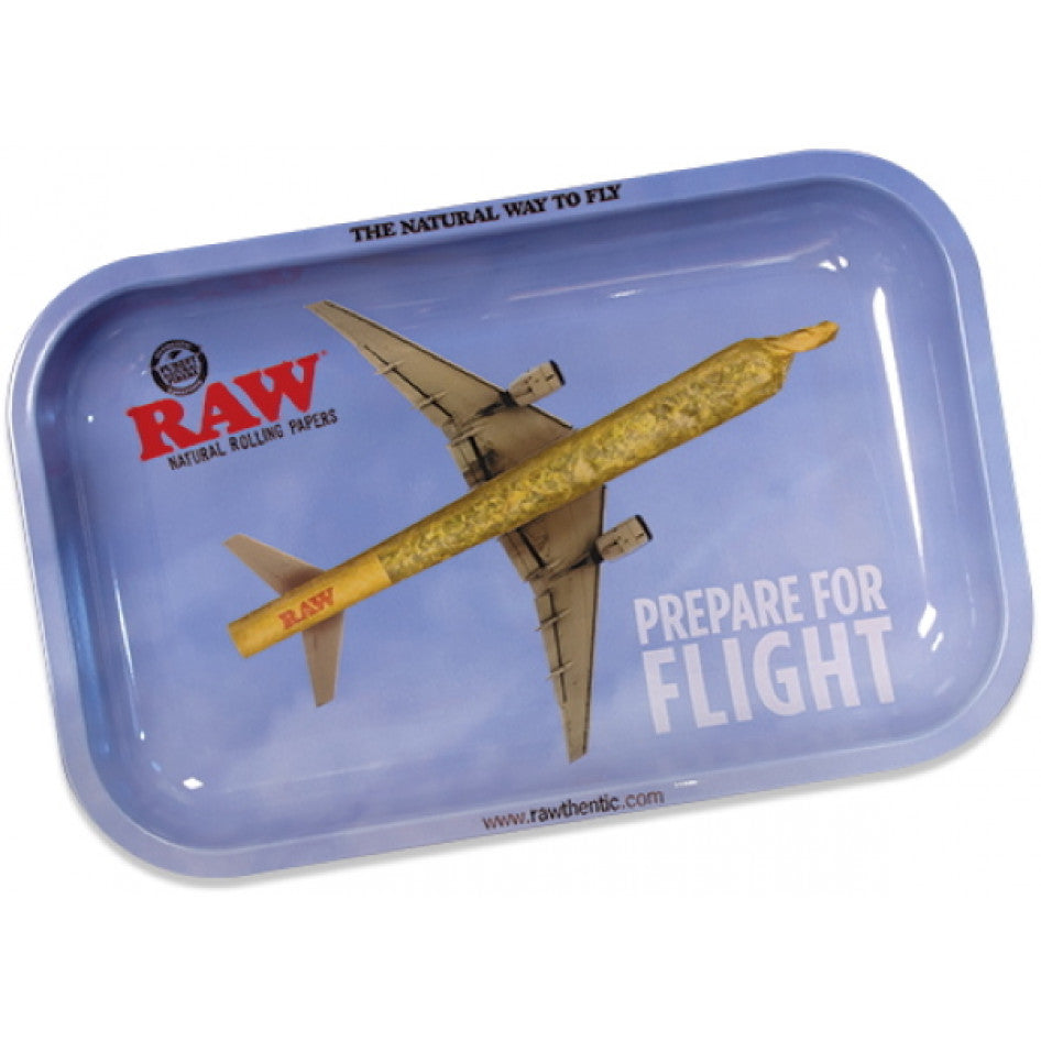 Raw Prepare for Flight Medium Rolling Tray