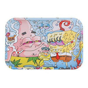 Spongebob & Patrick Medium Rolling Tray