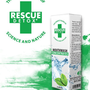 Rescue Detox Mouthwash Mint 2 fl oz