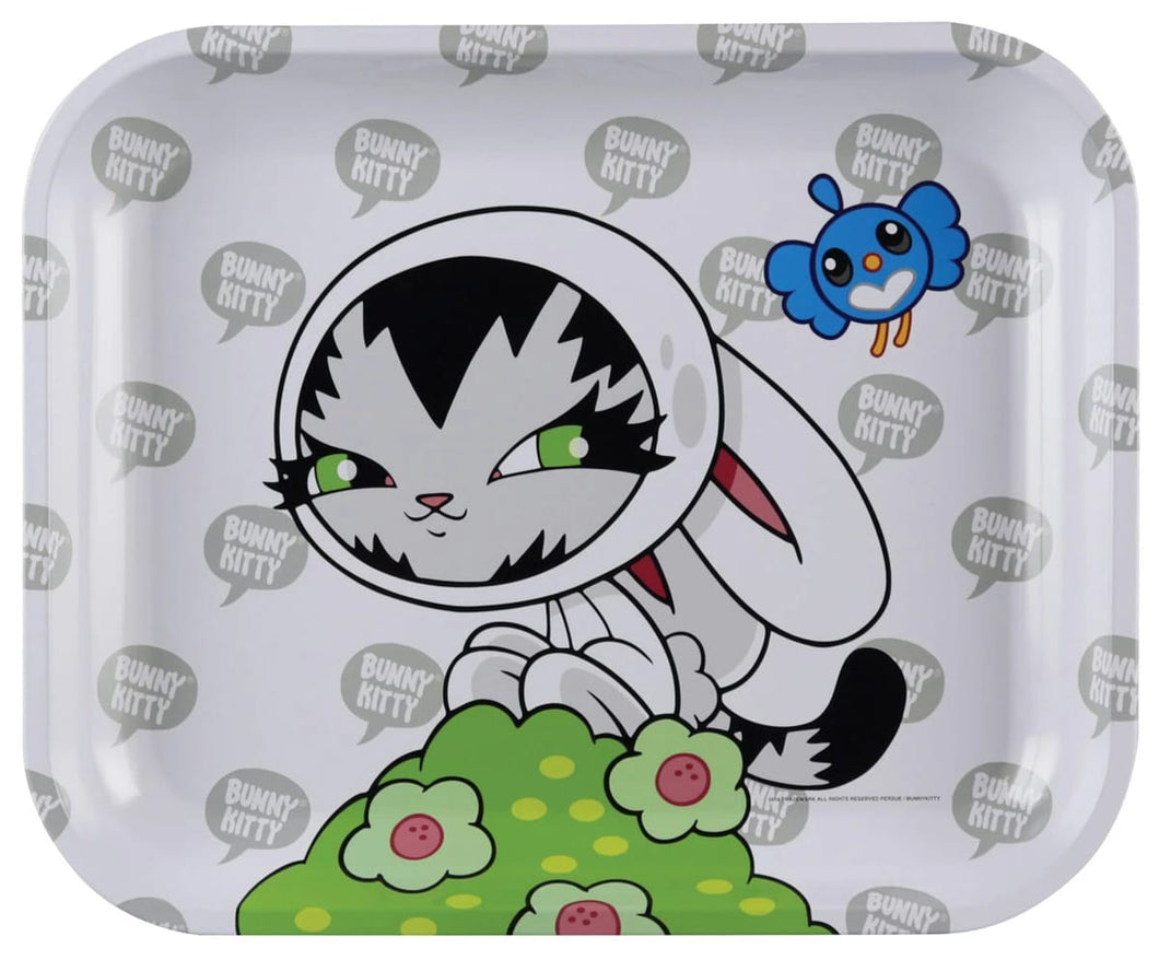 Bunny Kitty Large Rolling Tray