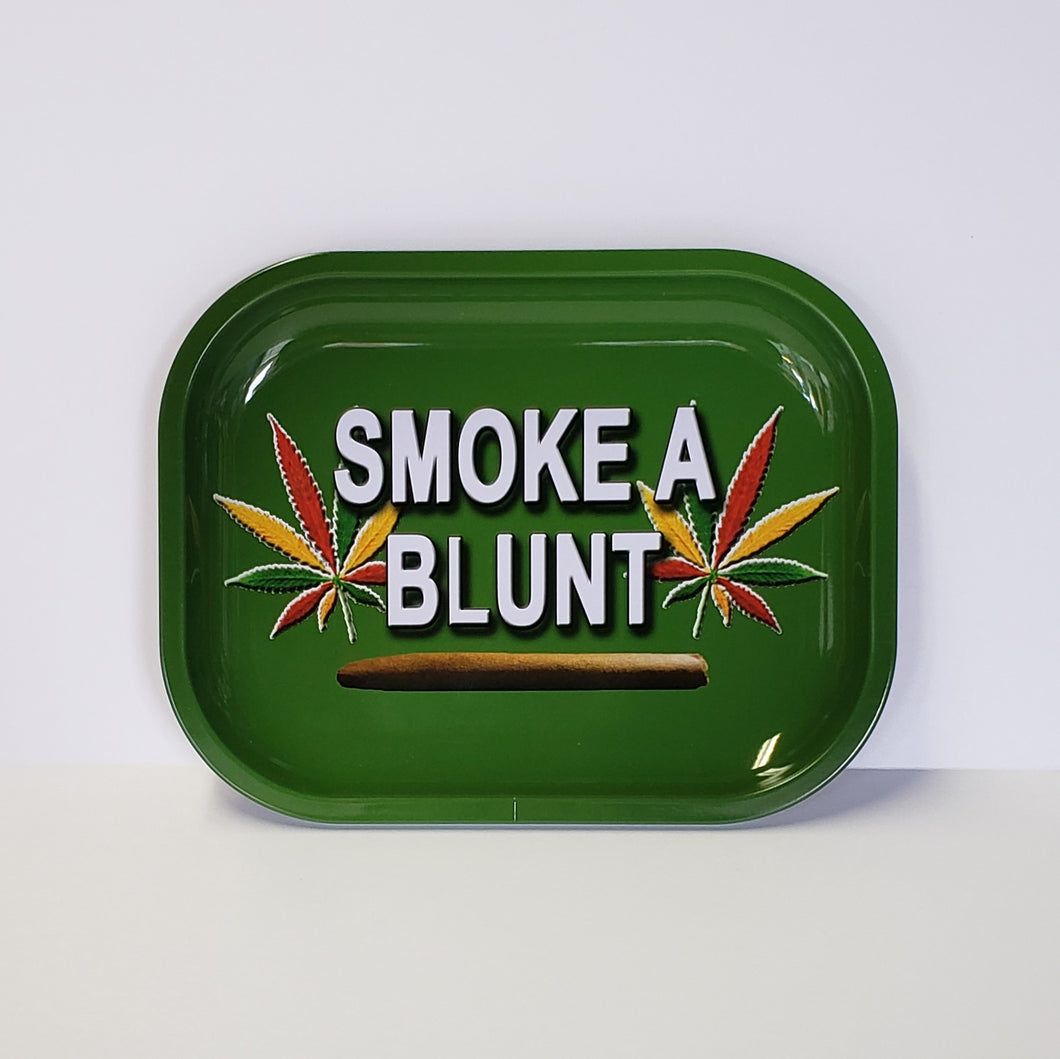 Smoke a Blunt Small Rolling Tray