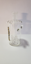 Load image into Gallery viewer, Kush 14mm UFO Perc Ash Catcher with Skulls