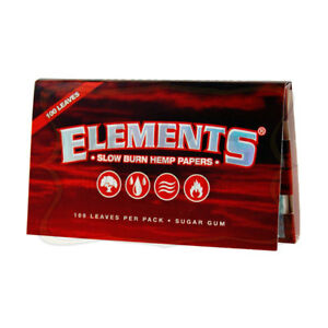 Elements Single Wide Hemp Rolling Papers