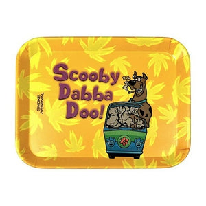 Scooby Dabba Doo Small Bamboo Fibre Rolling Tray