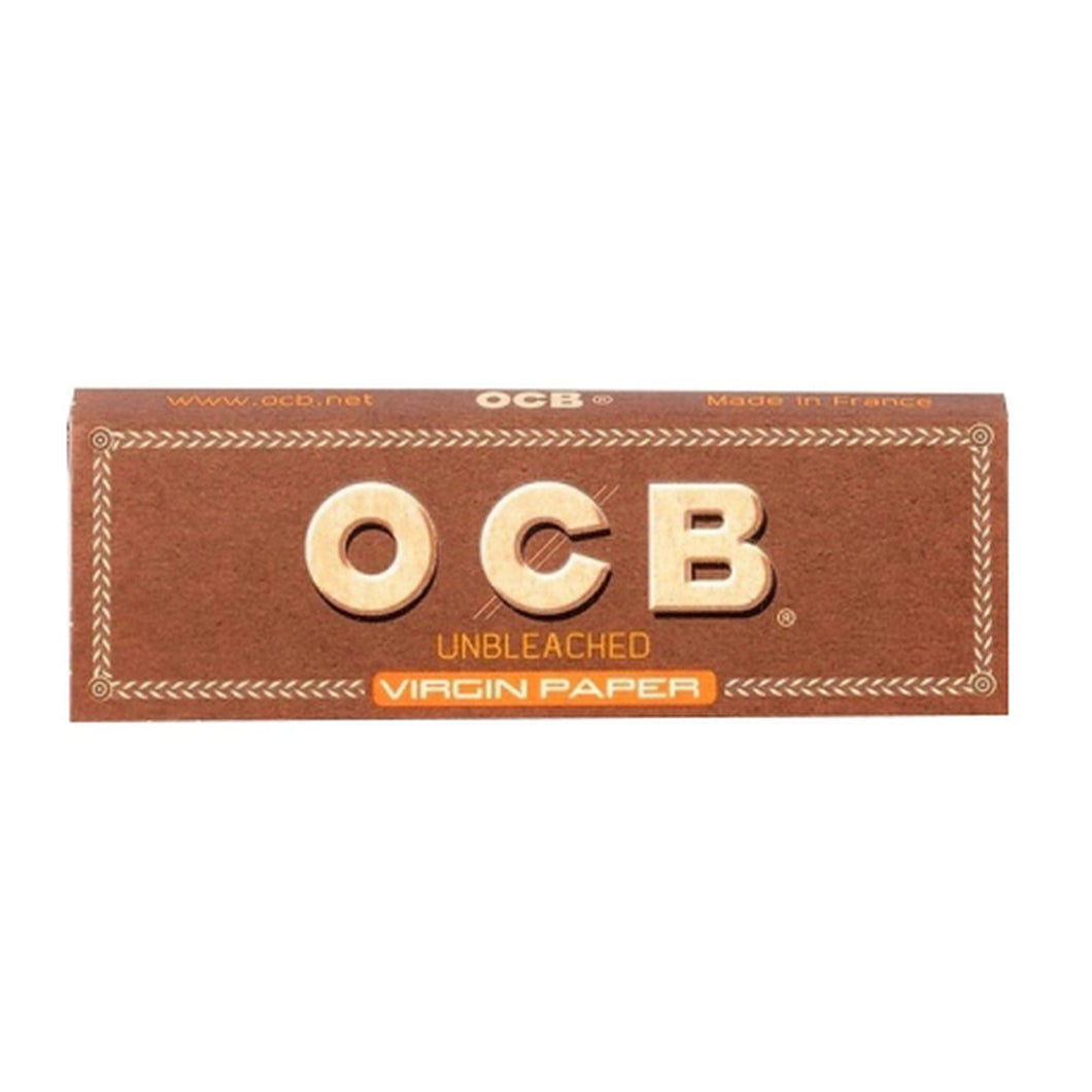 OCB Unbleached Virgin 1 1/4 Rolling Papers