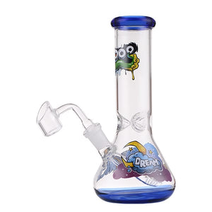 "7"" Bong Mini Rig with Banger"