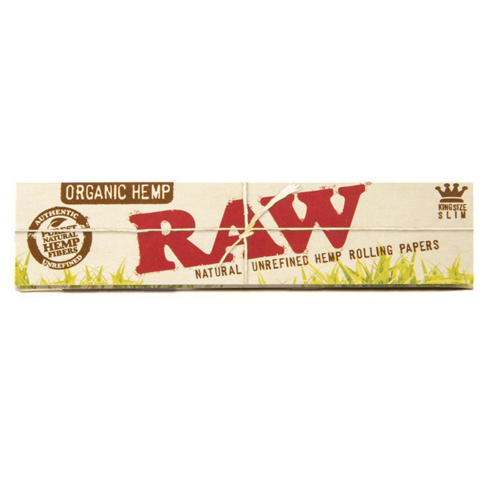 RAW Organic King Size Rolling Papers