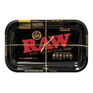 RAW Limited Edition Black Medium Rolling Tray