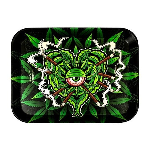 Stoned Eyeball Mini Bamboo Fibre Rolling Tray