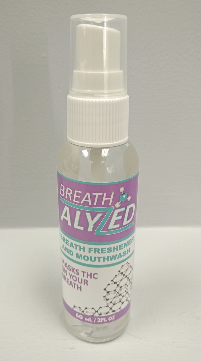 Breathalyzed Mouthwash Spray 2 fl oz