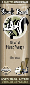 Skunk Brand Hemp Wraps (2 Pack)