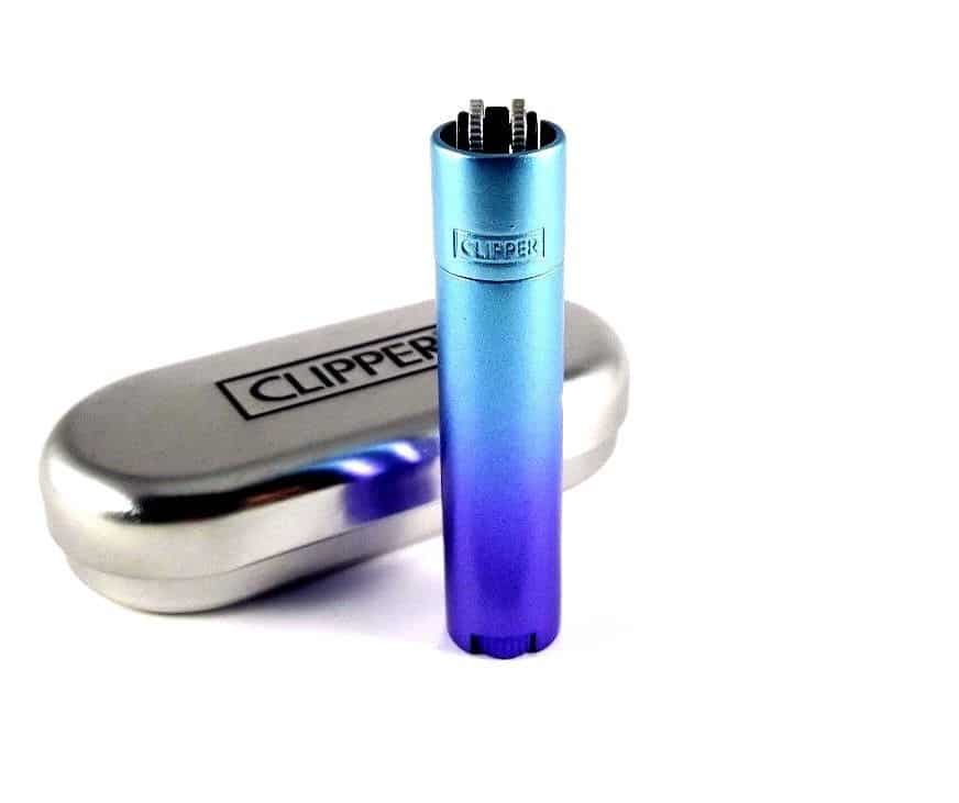 Blue Gradient Clipper with Carrying Case