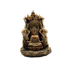 "5.5"" x 5"" Buddha Backflow Incense Burner"