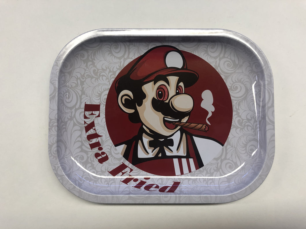 Extra Fried Mario Mini Rolling Tray