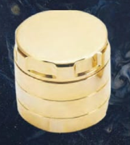 Load image into Gallery viewer, Grinder Gordon 24K Gold Plated 4 Piece 53mm