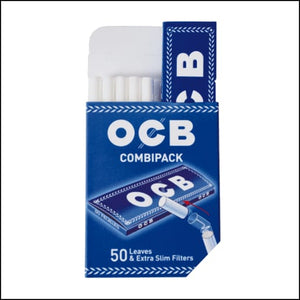 OCB Combipack 1 1/4 expert papers with extra slim filters