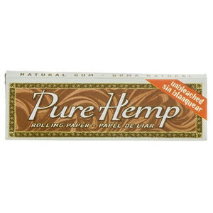 Pure Hemp Unbleached Sing Wide Rolling Papers