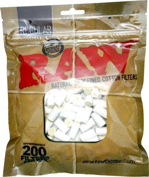 RAW Cotton Filter Tips (200 pack)