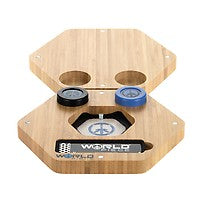 Cheech & Chong World Piece Magnetic Bamboo Tray for Concentrates