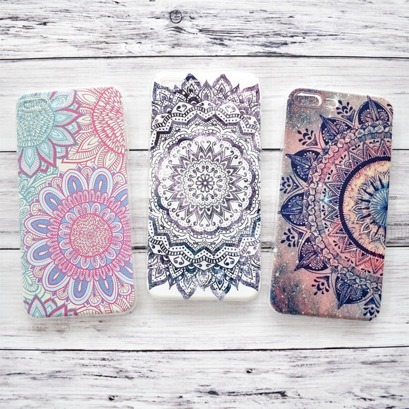 New Boho Floral iPhone Cases