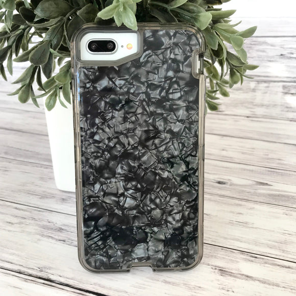 Black Iridescent Phone Case
