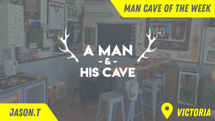 Man Cave of the Week - Episode 1. Amazing Memorabilia Inspired Man Cave.