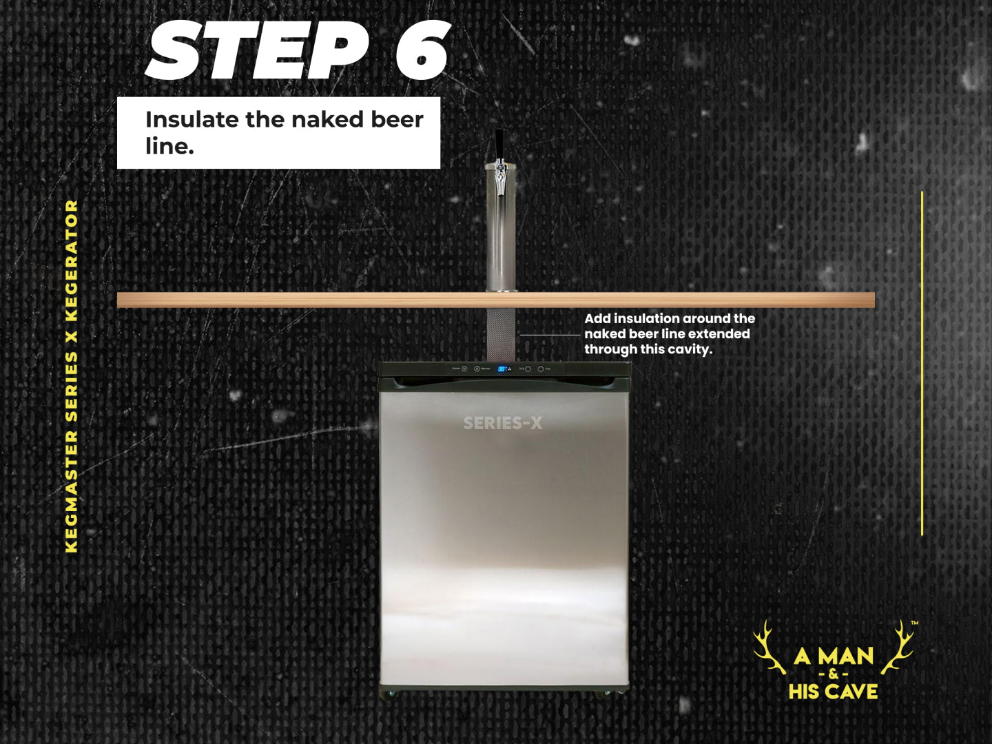 Step 6: Insulate the Naked Beer Line
