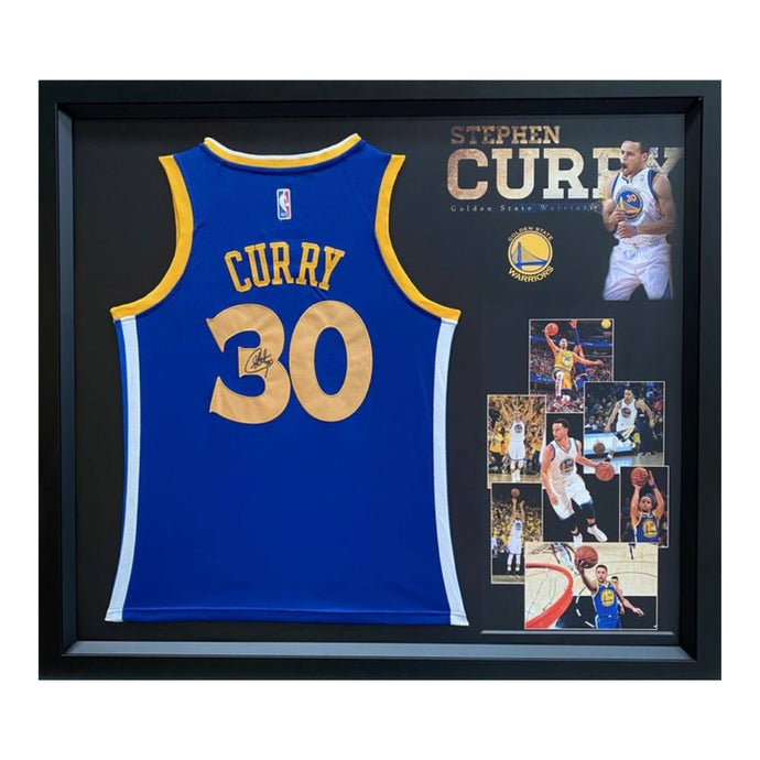 Memorabilia - Steph Curry Golden State Warriors Personally Signed Jersey