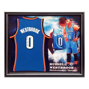 Memorabilia - Russell Westbrook Oklahoma Thunder Personally Signed Jersey