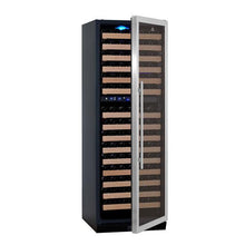 Load image into Gallery viewer, Wine Fridge - 405L Glass Door Upright Dual Zone Wine Fridge