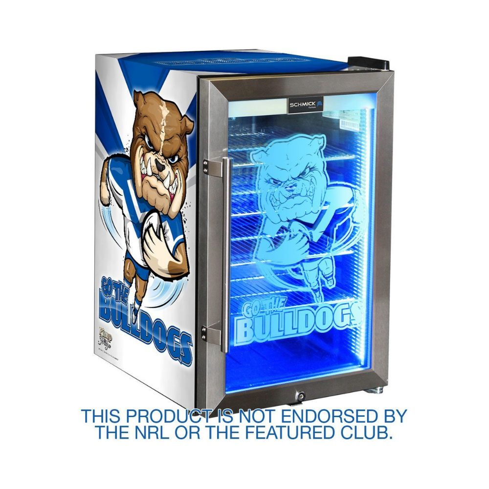 Bar Fridge - Canterbury Bulldogs NRL Design Club Branded Bar Fridge