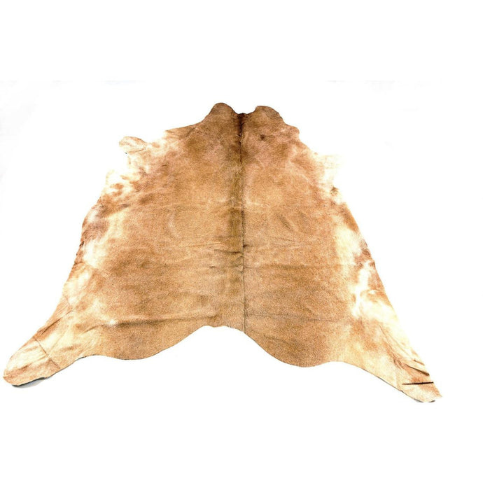 Rug - JERSEY - TAN COLOURED LARGE PREMIUM COWHIDE RUG