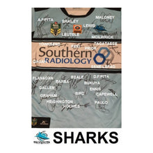 Load image into Gallery viewer, Memorabilia - Cronulla Sharks 2016 NRL Premiers Team-Signed Jersey - AMA Authenticity