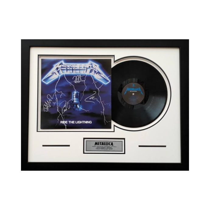 Metallica Band Signed