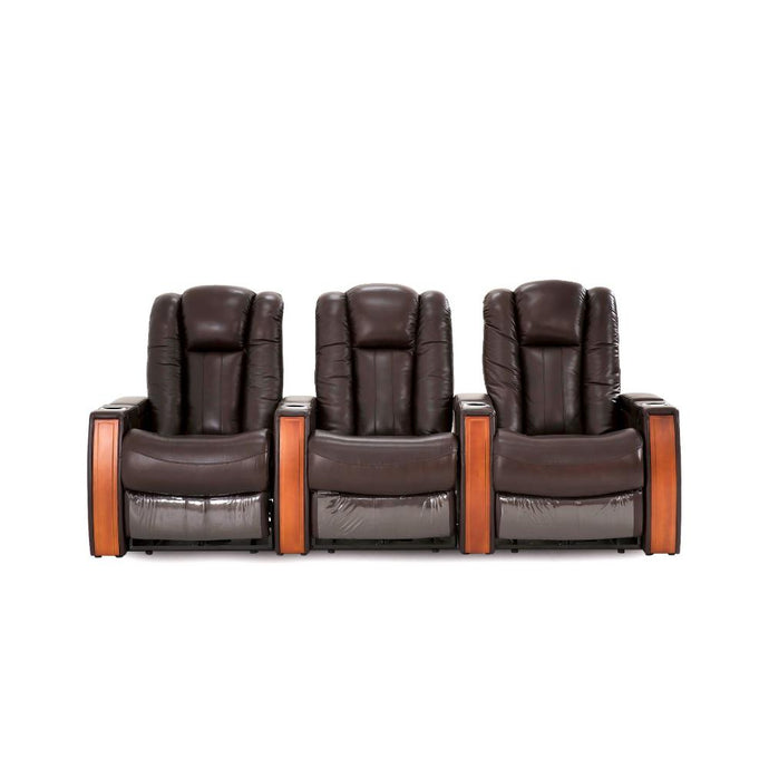 Premium Leather Executive 3 Seater Recliner - Electric