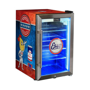 Bar Fridge - Esso Fuel Pump Branded 70lt Bar Fridge
