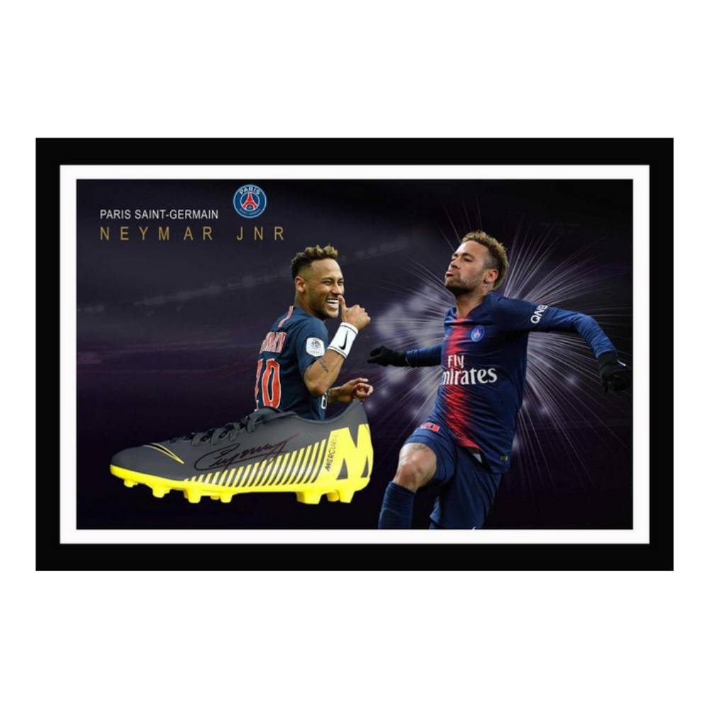 Memorabilia - Neymar Jr Personally Signed Boot
