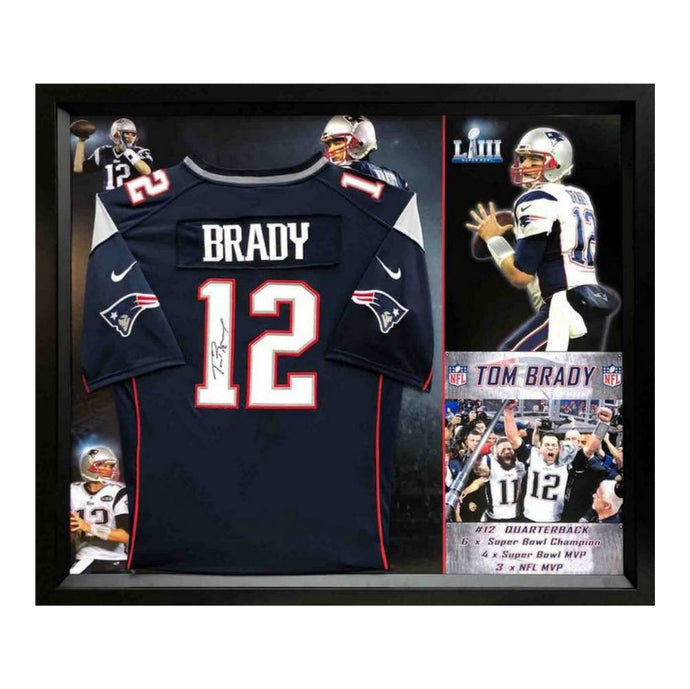 Memorabilia - Tom Brady Personally Signed New England Patriots Jersey