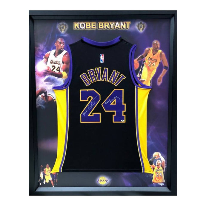 Kobe Bryant Autographed And Inscribed With