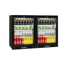 Load image into Gallery viewer, Bar Fridge - Alfresco Glass 2 Door Bar Fridge Energy Efficient