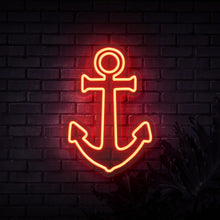 Load image into Gallery viewer, Neon Sign - ANCHOR NEON SIGN (DELIVERED IN 3-5WKS)
