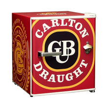 Load image into Gallery viewer, Bar Fridge - Carlton Draught Retro Mini Bar Fridge 46 Litre