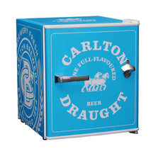 Load image into Gallery viewer, Bar Fridge - Carlton Draught 'Original' Logo Retro Mini Bar Fridge