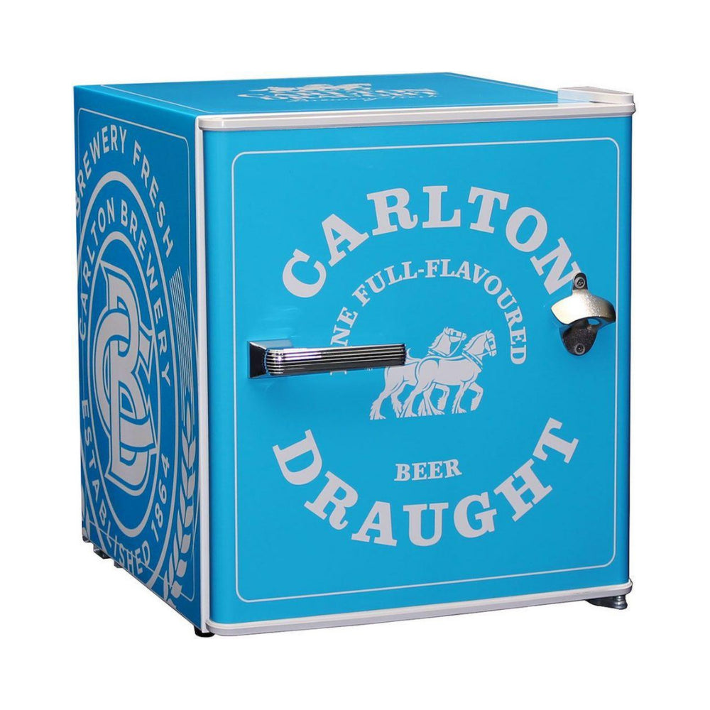 Bar Fridge - Carlton Draught 'Original' Logo Retro Mini Bar Fridge