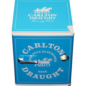 Carlton Draught 'Original' Logo Retro Mini Bar Fridge