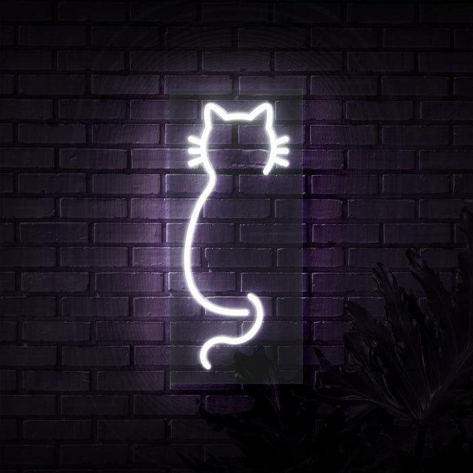 Neon Sign - CAT NEON SIGN (DELIVERED IN 3-5WKS)