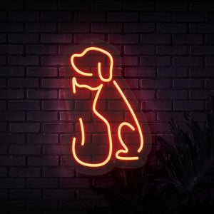 Neon Sign - CAT & DOG NEON SIGN (DELIVERED IN 3-5WKS)