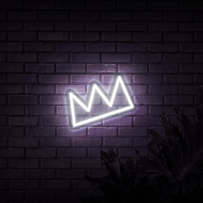 Neon Sign - CROWN NEON SIGN (DELIVERED IN 3-5WKS)