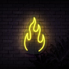 Load image into Gallery viewer, Neon Sign - FIRE NEON SIGN (DELIVERED IN 3-5WKS)