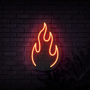 Neon Sign - FIRE NEON SIGN (DELIVERED IN 3-5WKS)